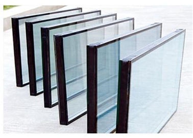 Cina Qualified Float Glass Sealed Insulated Glass Unit For Refrigerator Filled With Air pemasok